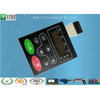 Buy cheap Multi LED Embossing Membrane Switch 10 Pin Female Connector 1.0mm Pitch from Wholesalers