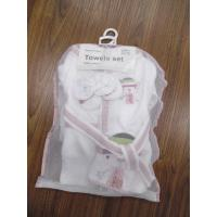towels set for baby,non-twist woven terry cotton fabric products gift set