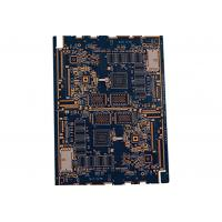 Buy cheap 4 layer 0.25mm thickness black oil resistance PCB from Wholesalers