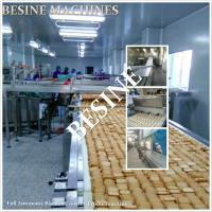 China Automatic cake making machine/cake production line on sale