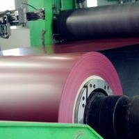 China Pre-painted steel coil in red factory