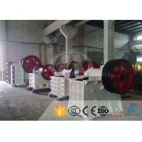 Buy cheap Aggregate Stone Crushing Equipment PE-500×750 Jaw Crusher Plant 1-800 T/H from Wholesalers