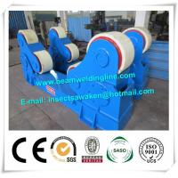 China Automated PU Roller Pipe Welding Rotator / 5 Ton Welding Turning Rolls factory