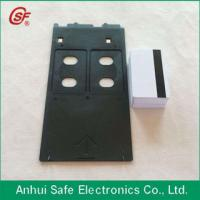 China plastic inkjet pvc id card tray for Canon G printer on sale