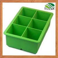 China China Silicone Products /Large/Mini Silicone Ice Cube Plastic Serving Tray on sale