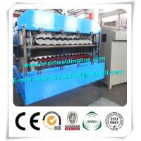 China CE Approvals Double Layer Roll Forming Machine for Metal Deck And Steel Tile factory