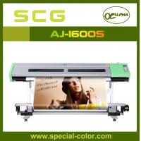 Buy cheap 1.6m eco solvent printing machine ALPHA AJ1600S,with dx5 print head from Wholesalers