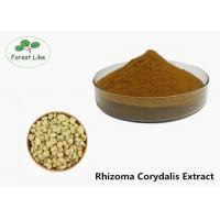 China Brown Rhizoma Corydalis Extract For Pain Relieve Rotundine Solvent Extraction on sale