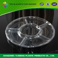 Buy cheap PET Tray Plastic , Food Compartment Trays from Wholesalers