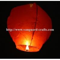China ECO flame resistant chinese sky lanterns flying paper fly lanterns cheap wish lanterns factory