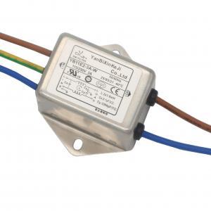 China Single Phase Compact EMI EMC RFI Filter AC Line Noise Filter factory