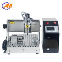China AMAN3040 mini cylinder copper engraving machine computer controlled wood carving machine 3040 with high speed on sale