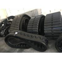 China 52 Link Paver Rubber Tracks factory