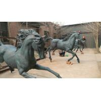 China New Bronze horse sculptures ,outdoor brass horse statues for sculptor and artist, China sculpture supplier factory