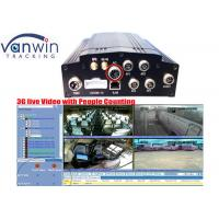 China Network HDD Storage Bus Mobile DVR Recorder Anti Vibration 4 CH on sale