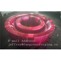 China ASTM AISI  DIN 36CrNiMo4 JIS SNCM439 Forged Gear Blank Internal Gear RIng Blanks Alloy Steel factory