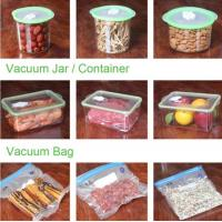 China VACUUM JAR, VACUUM CONTAINER, channel vacuum pouch food storage bag, Safety food grade vacuum storage bag, home used vac factory