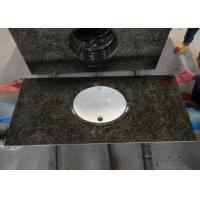 Custom Black Granite Overlay Countertops Anti - Stain With Backsplashes