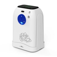 Buy cheap Lightweight Continuous Flow Portable Oxygen Concentrator 105W from wholesalers