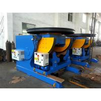 Buy cheap 3T CE Pipe Welding Positioners , Stepless Frequency Conversion Welding Rotators from wholesalers