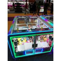 China English / Chinese Version Prize Vending Machine With Colorful Light Transformation factory
