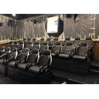 China Genuine Leather Electric Mobile 5D Cinema Equipment For Business Center factory
