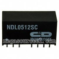 China NDL0512SC - C&D Technologies - Isolated 2W Wide Input Single Output DC-DC Converters on sale