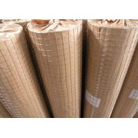 Buy cheap Anti Corrosive Stainless Steel Welded Wire Mesh Panels , Galvanised Welded Mesh Rolls from wholesalers