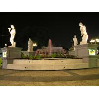 Buy cheap large garden figure fountain watering sculpture from Wholesalers