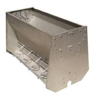 Buy cheap Stainless Steel Double Sided Pig Feeding Trough , Pig Water Trough from wholesalers
