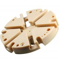Buy cheap CNC Peek Micro Machines Components , Solid Plastic Block High Precision from Wholesalers
