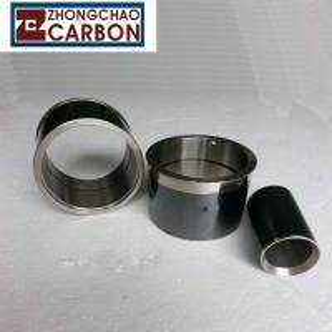 Buy cheap Custom Shield Pumps Bushing Sleeve Bearing , Motors Flanged Sleeve Bearing from Wholesalers