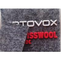 Buy cheap Custom Felt Fabric Patches Silicone Logo For Hats / Bags / Clothes OEKO SGS BV from wholesalers