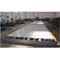 China Modularization Design Truck Weighing Scale With Computing System 60t Or 80t factory