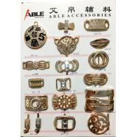 Buy cheap Decorative Silver Color Small Metal Shoe Buckle , Dress Shoe Clips A11 A12 from Wholesalers