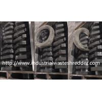 Buy cheap Stable Rubber Tire Plastic Waste Shredder High Strength Wear Resistance from Wholesalers