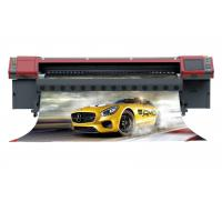 China Reliable Konica Solvent Printer For Cloth / Light Box Cloth / Coil Material factory