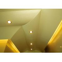 Buy cheap Hollow Pattern Custom Ceilings  Roof Decorated With Singular Structures from Wholesalers