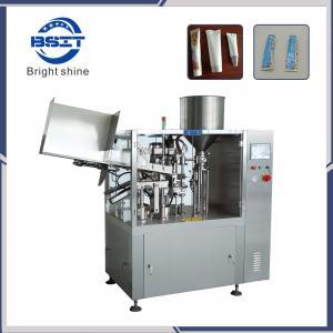 China Soft Laminate Aluminium Plastic Tube Filling and Sealing Machine for Cosmetic Cream factory