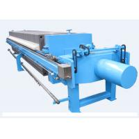 Buy cheap Auto Hydraulic Plate Frame Filter Press Dewatering Capacity 480L - 1800L from Wholesalers