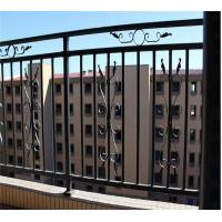 China Decorative Wrought Iron Fence Panels Waterproof Cast Iron Railing Powder Coated on sale
