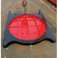 China Steel Thimble Mounted Sluice Gate Round Shape For Rivers Sluices on sale