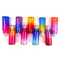 China Customized Gradient Glass Roller Bottles For Essential Oils 5ml 10ml 15ml factory