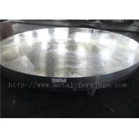 China OD1935mm Carbon Steel ASTM A105 Forged Disc Normalized Heat Treatment factory