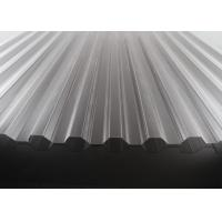 Buy cheap High Transparency Corrugated Polycarbonate Sheets For Skylights 10 Years from wholesalers