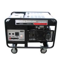 Buy cheap Electricity silent portable gasoline generator 10000w petrol engine residential Brushless 120V from Wholesalers