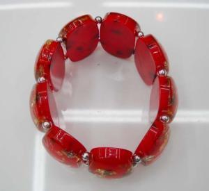 China Fashion Bracelet/Platinum Plating Colored Bracelet factory