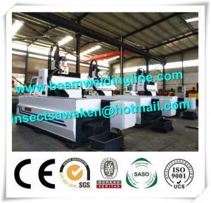 China Longitudinal CNC Drilling Machine , 6m CNC Drilling Machine For Metal Sheet factory