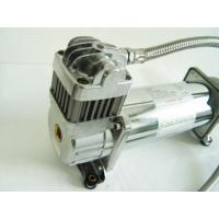 China 150PSI Chrome 1.75CFM Heavy Duty Portable Air Shock Compressor 12v With Air Tank factory