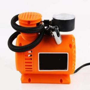China Orange Portable 12 Volt 250 Psi Air Compressor For Car Tires factory